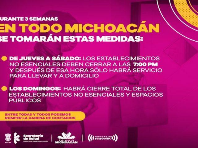 Michoacán: Nueva Movilidad 2021